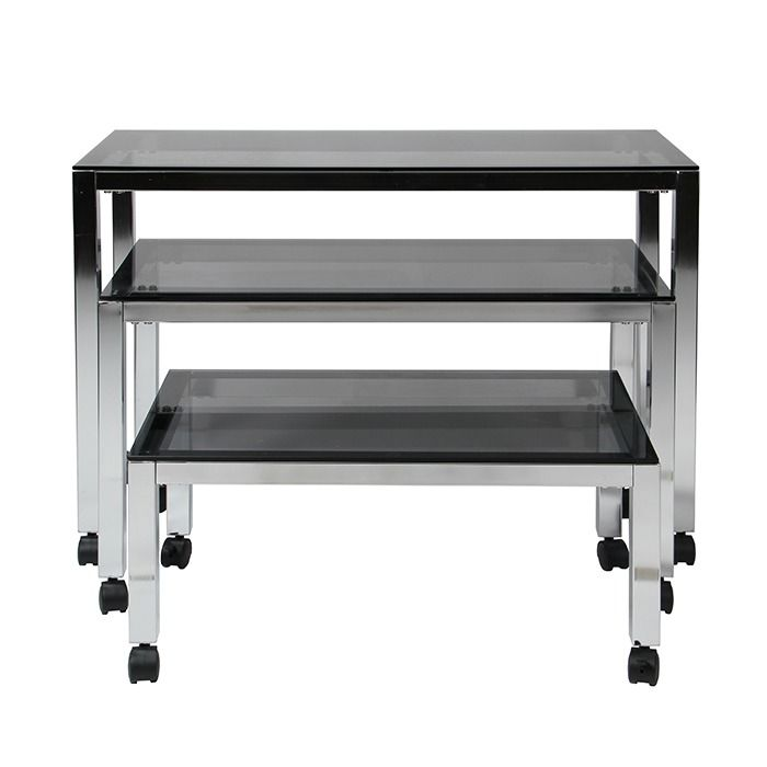 Glass Retail Nesting Tables Subastral